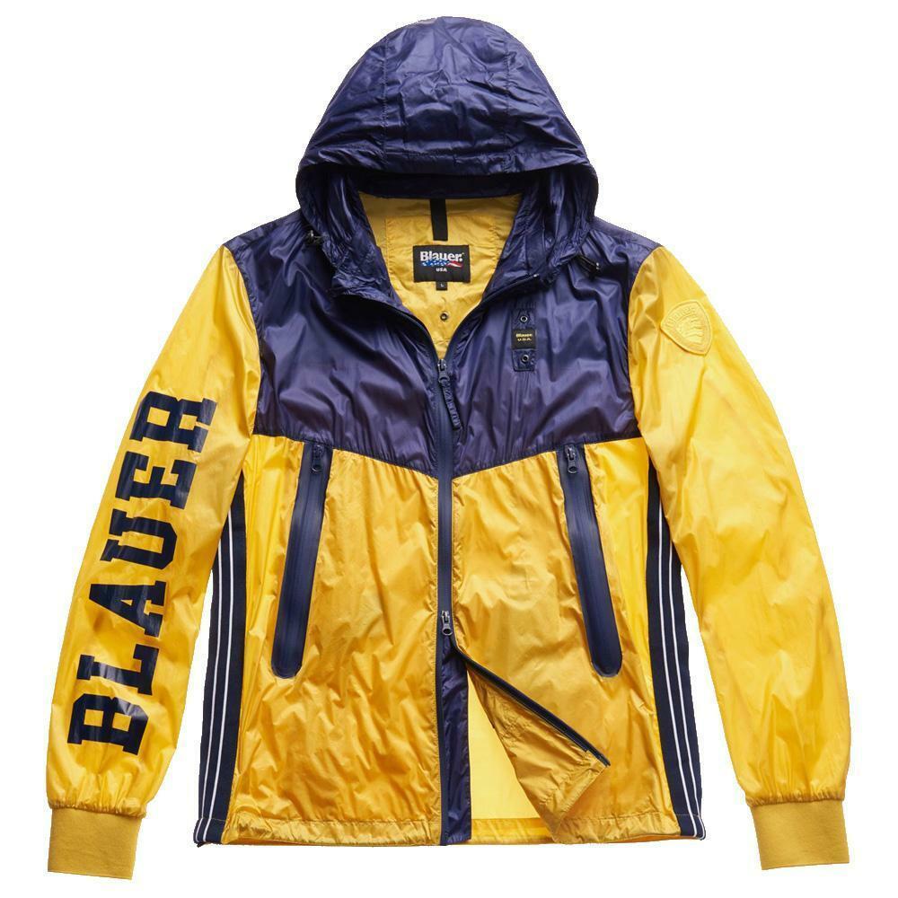 blauer blauer giubbotto uomo giallo blu 20sbluc04120
