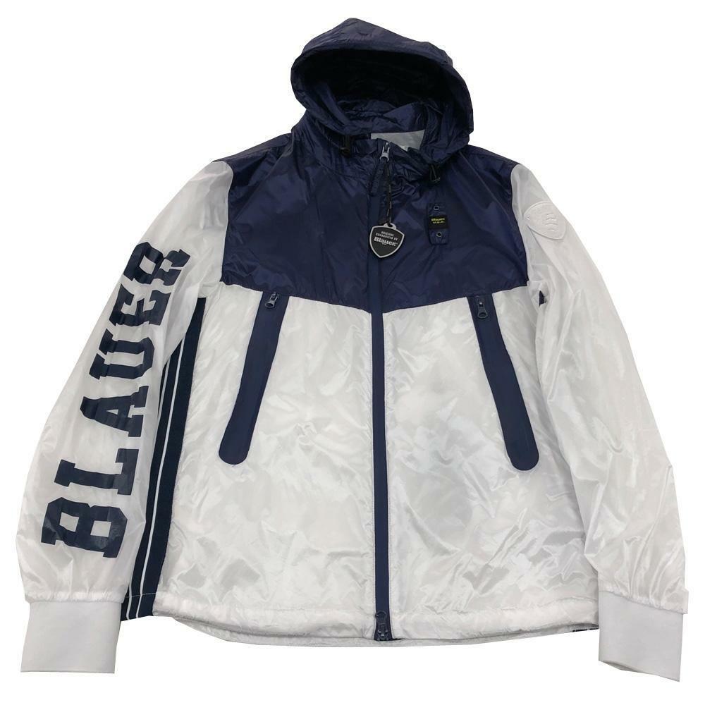 blauer blauer giubbotto bambino bianco blu 20sblkc04319