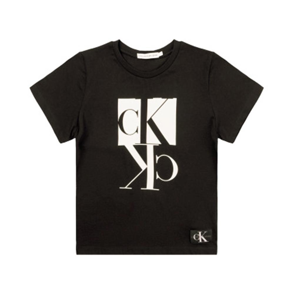 calvin klein calvin klein t-shirt bambino nero ib0ib00383