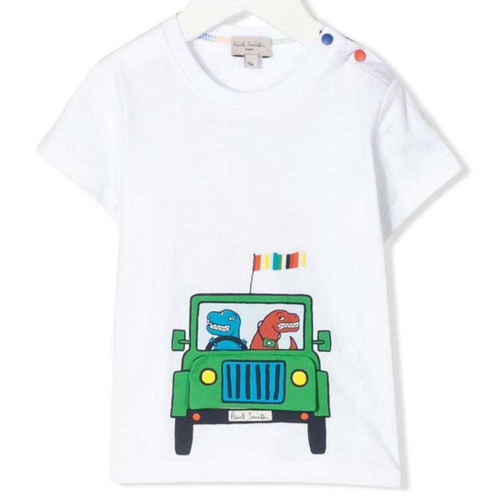 paul smith paul smith t-shirt neonato bianco 5q10591