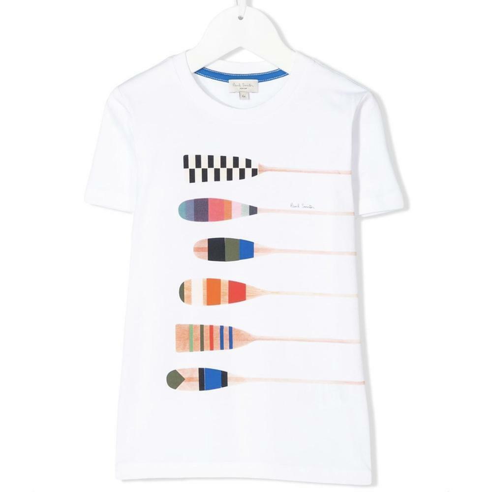 paul smith paul smith t-shirt bambino bianco 5q10602