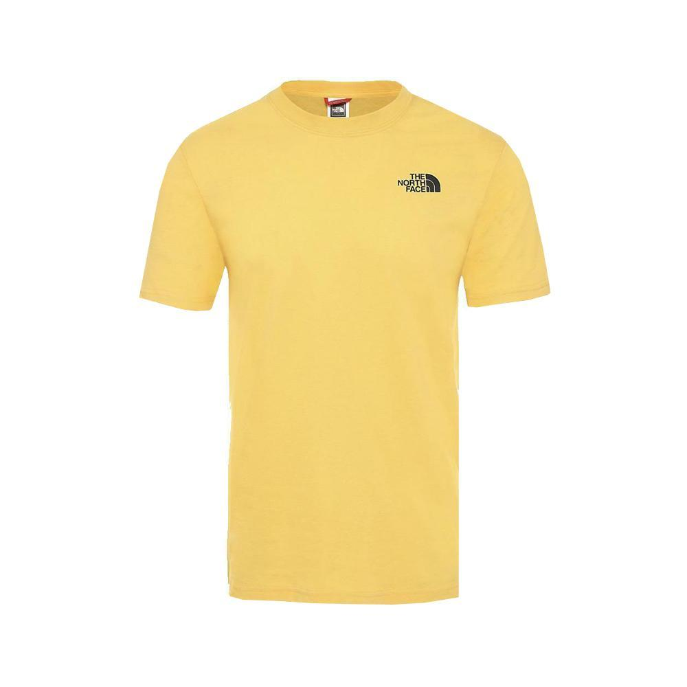 the north face the north face t-shirt uomo giallo nf0a2tx2