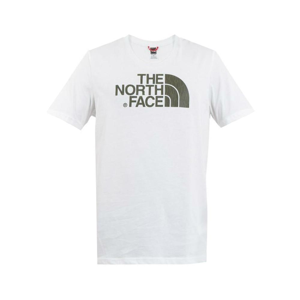 the north face the north face t-shirt uomo bianco verde nf0a2tx3