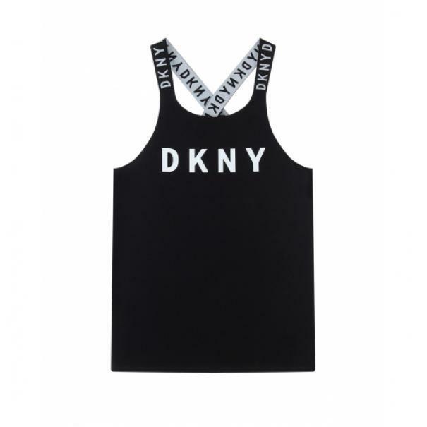 dkny dkny top bambina nero d35q66