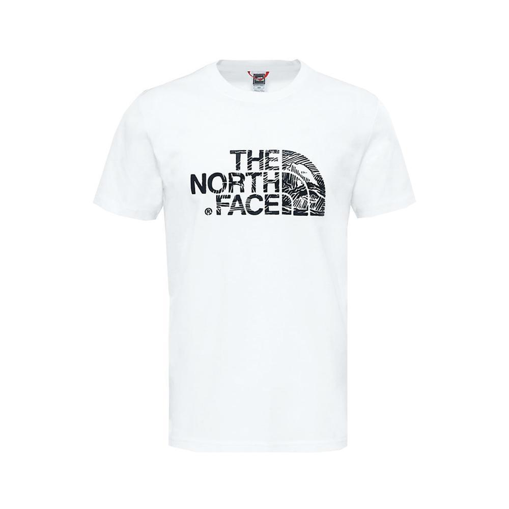 the north face the north face t-shirt uomo bianco nf00a3g1