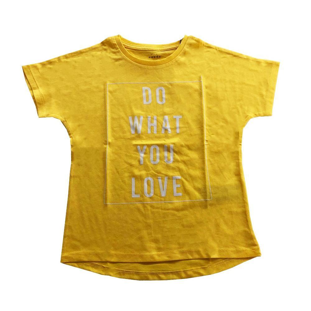 name.it name.it t-shirt bambina giallo  13173774