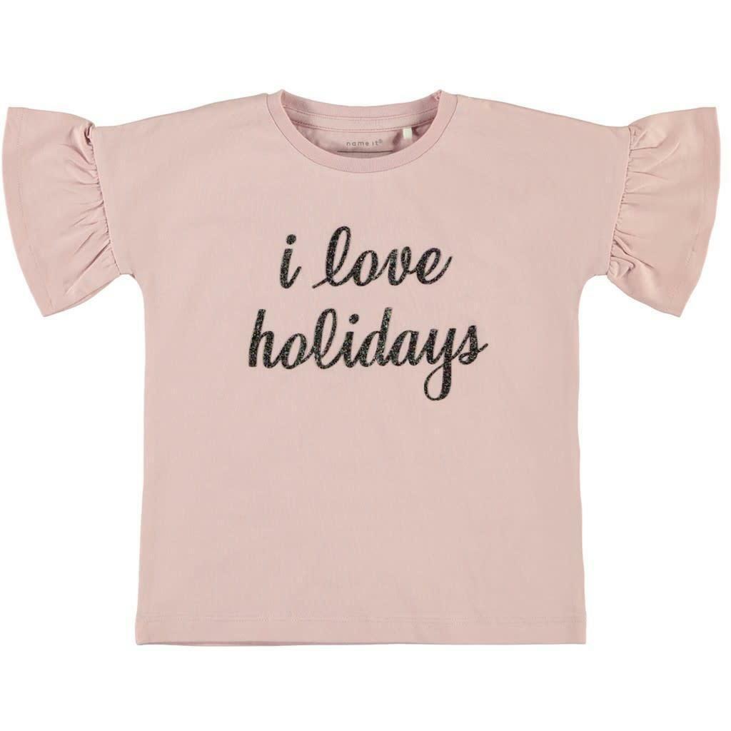 name.it name.it t-shirt bambina rosa 13175800