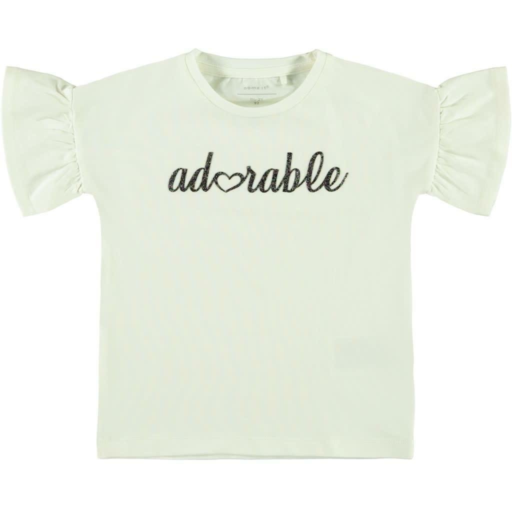 name.it name.it t-shirt bambina bianco 13175800