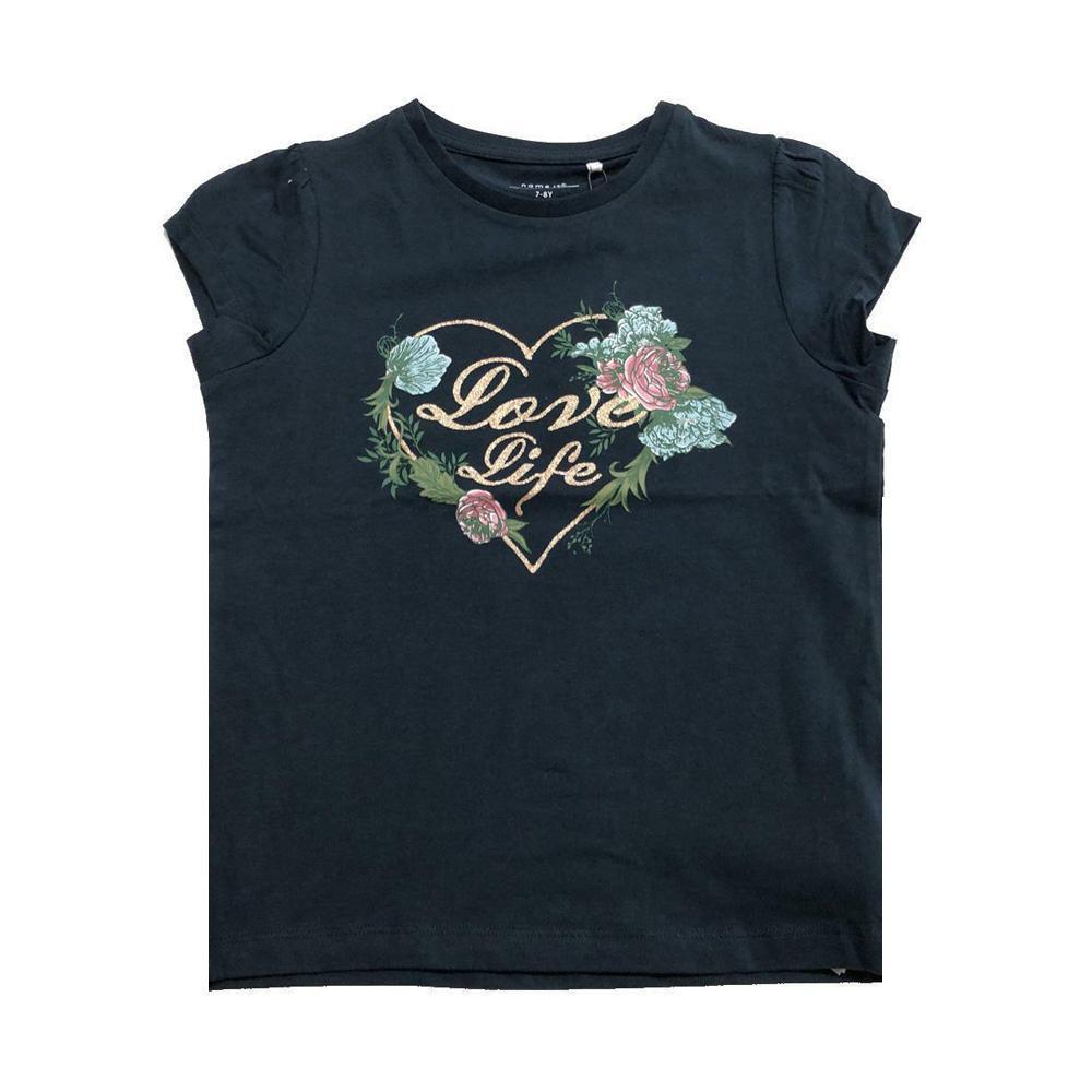 name.it name.it t-shirt bambina blu 13176359