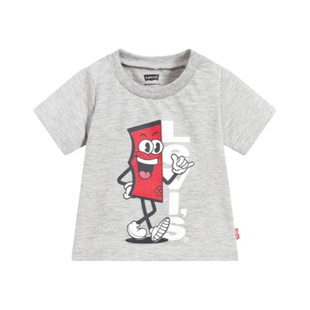 levis levis t-shirt neonato grigio 6ea886