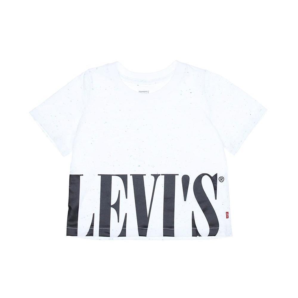 levis levis t-shirt bambino bianco 3ea835