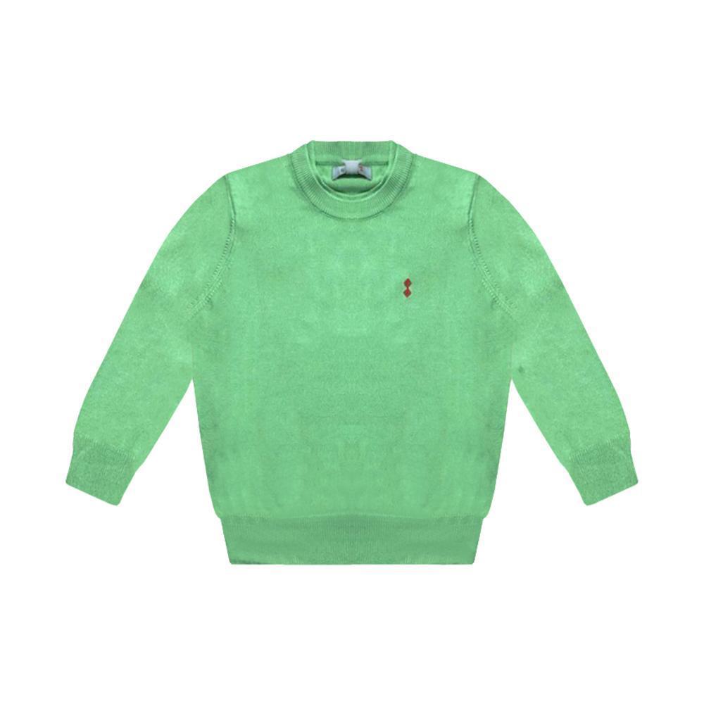 slam slam maglia bambino verde chiaro s302010t00