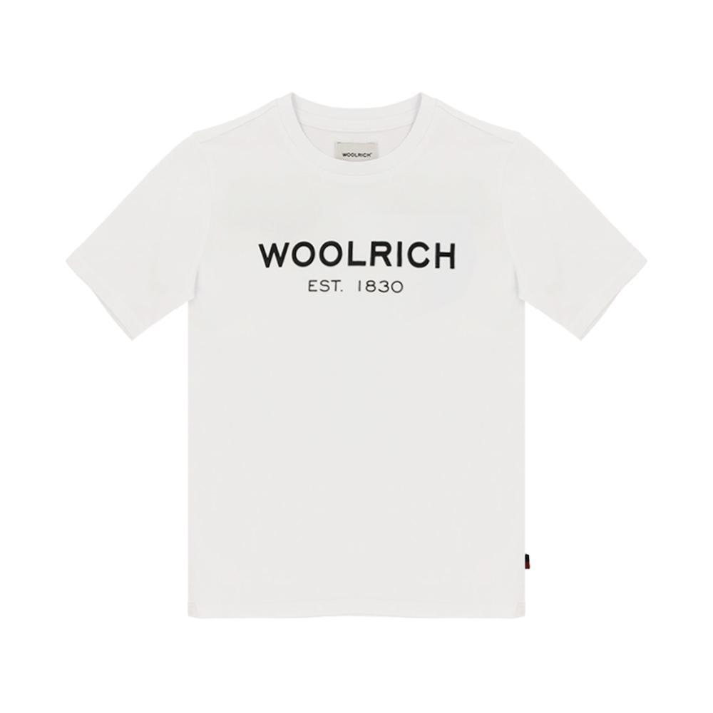woolrich woolrich t-shirt bambino bianco wkte0045mr