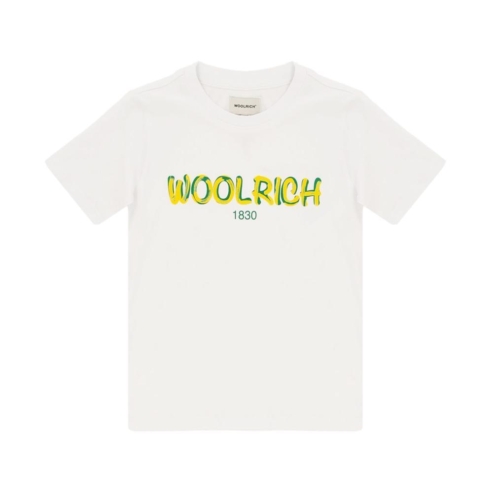 woolrich woolrich t-shirt bambino bianco wkte0048mr