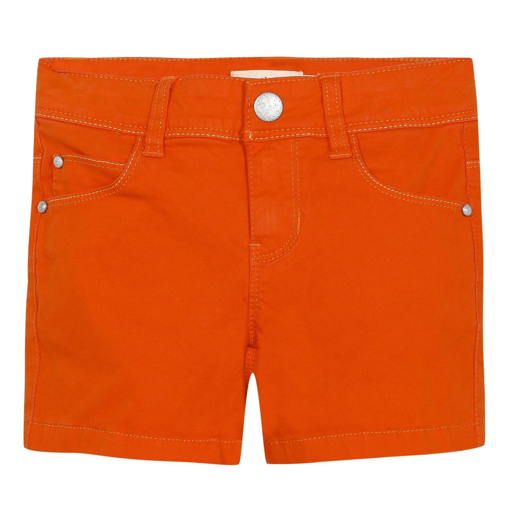 catimini catimini short bambina arancio cq26055