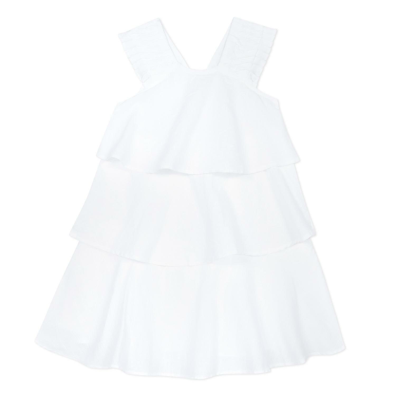 catimini catimini abito bambina bianco cq31035