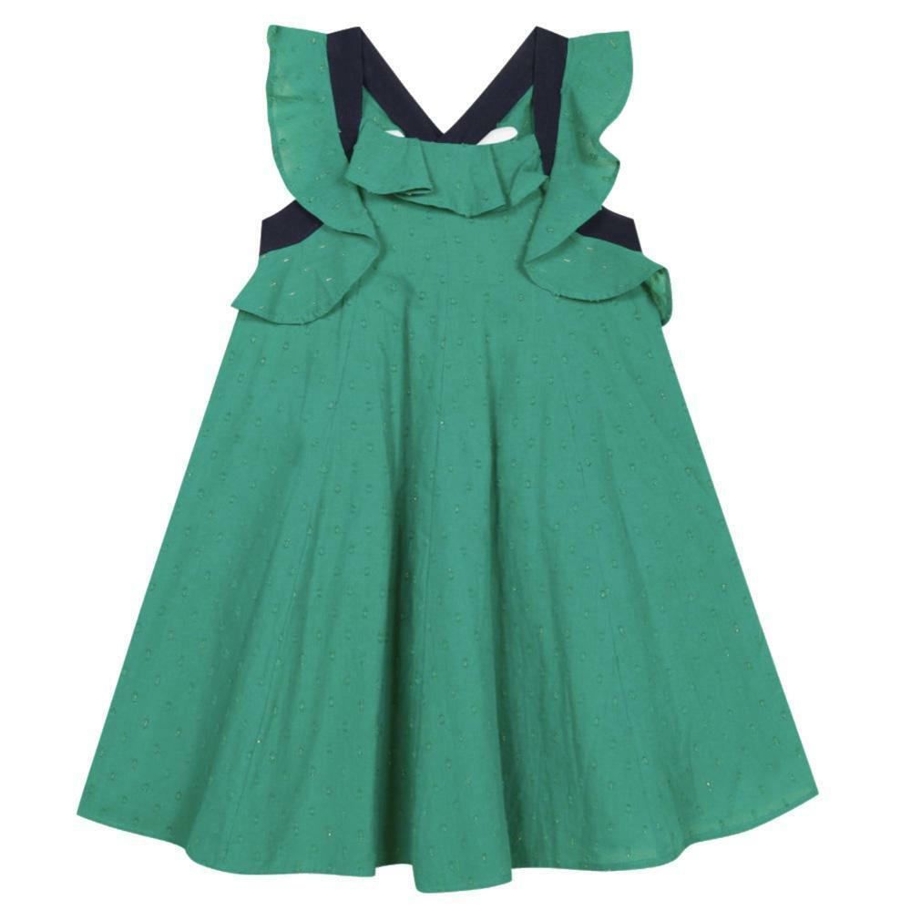 catimini catimini abito bambina verde cq310051