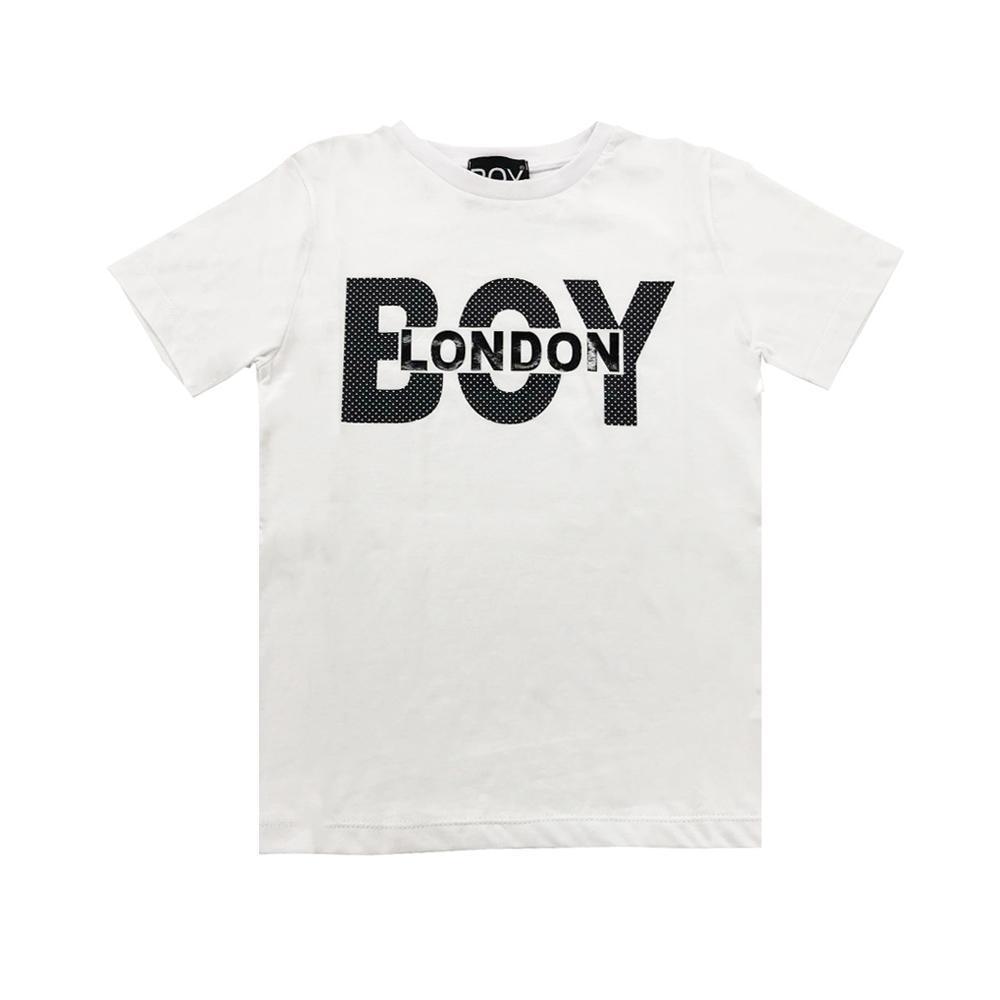 boy london boy london t-shirt ragazzo bianco tsbl2151j
