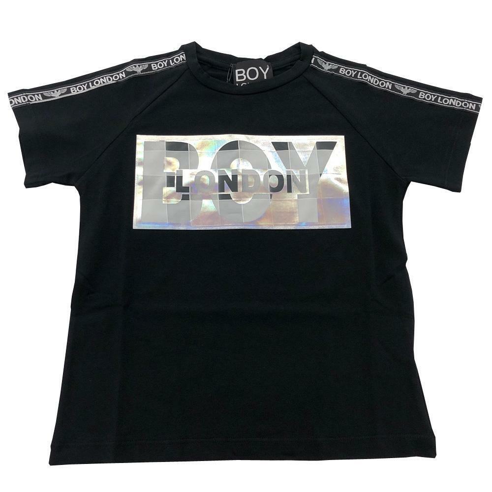 boy london boy london t-shirt ragazzo nero tsbl2108j