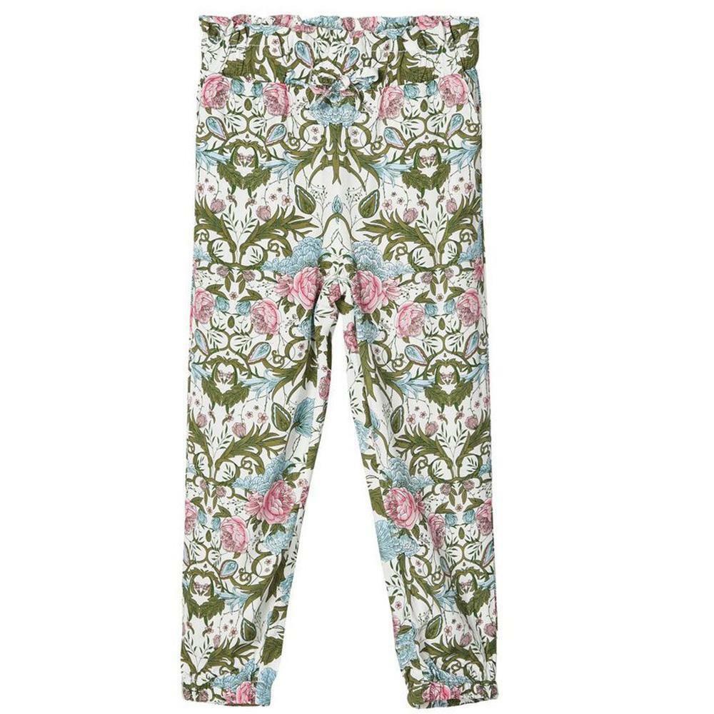 name.it name.it pantalone bambina bianco fantasia 13175278