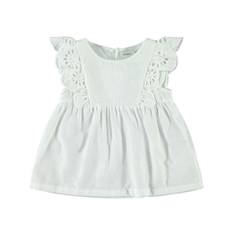 name.it name.it vestitino bambina bianco 13175273