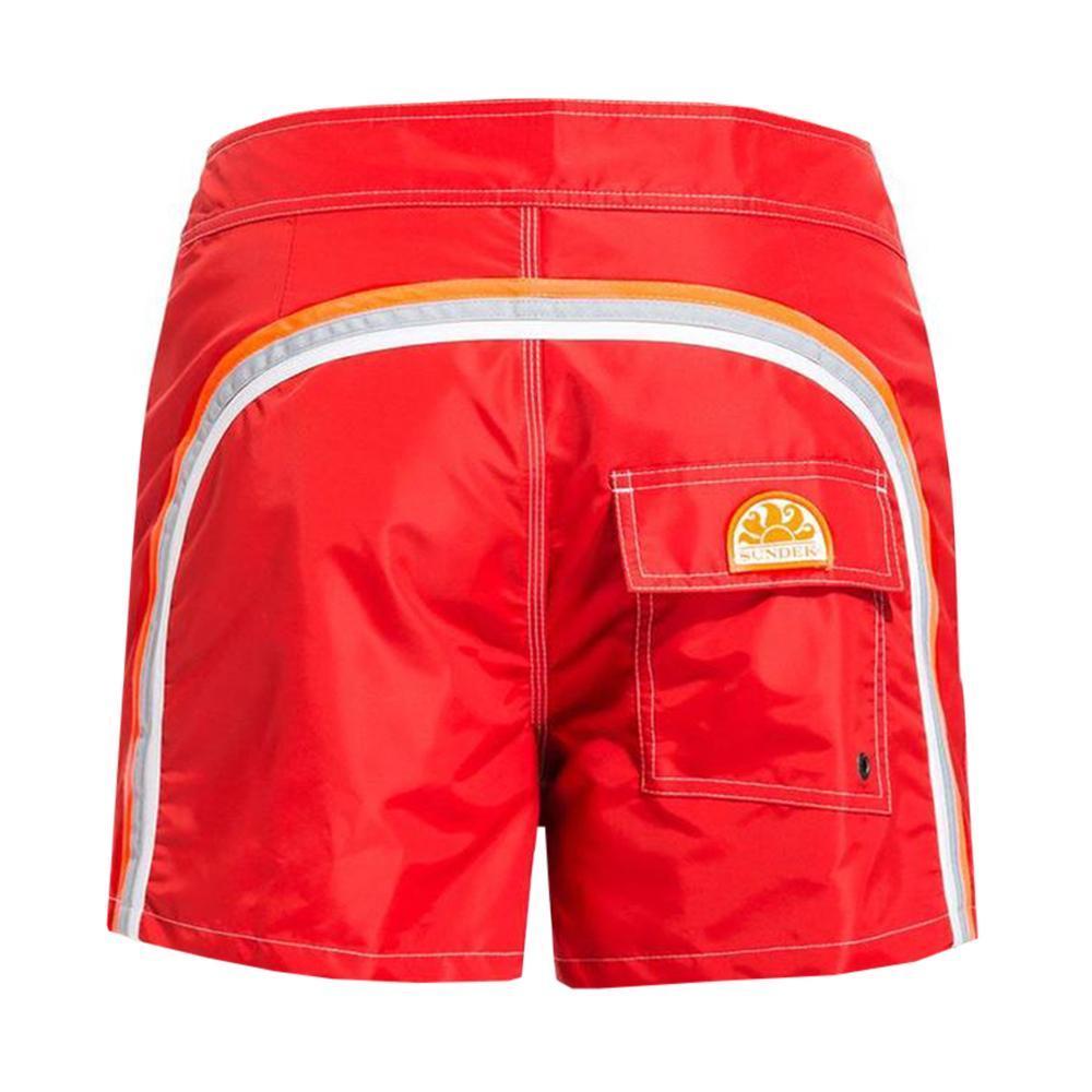sundek sundek costume bambino rosso arancio fluo b504bdta100k