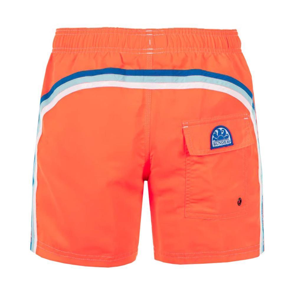 sundek sundek costume bambino arancio fluo blu b504bdta100k