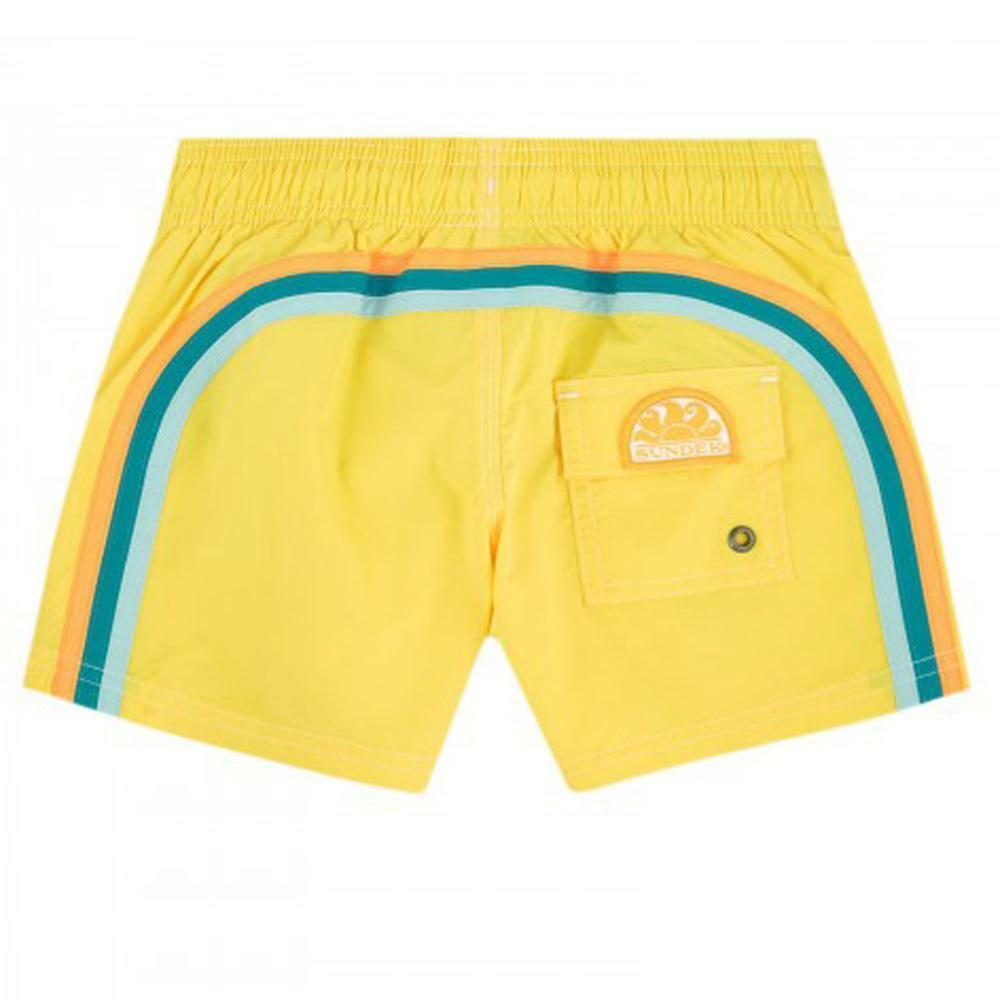 sundek sundek costume bambino giallo arancio b504bdp7800