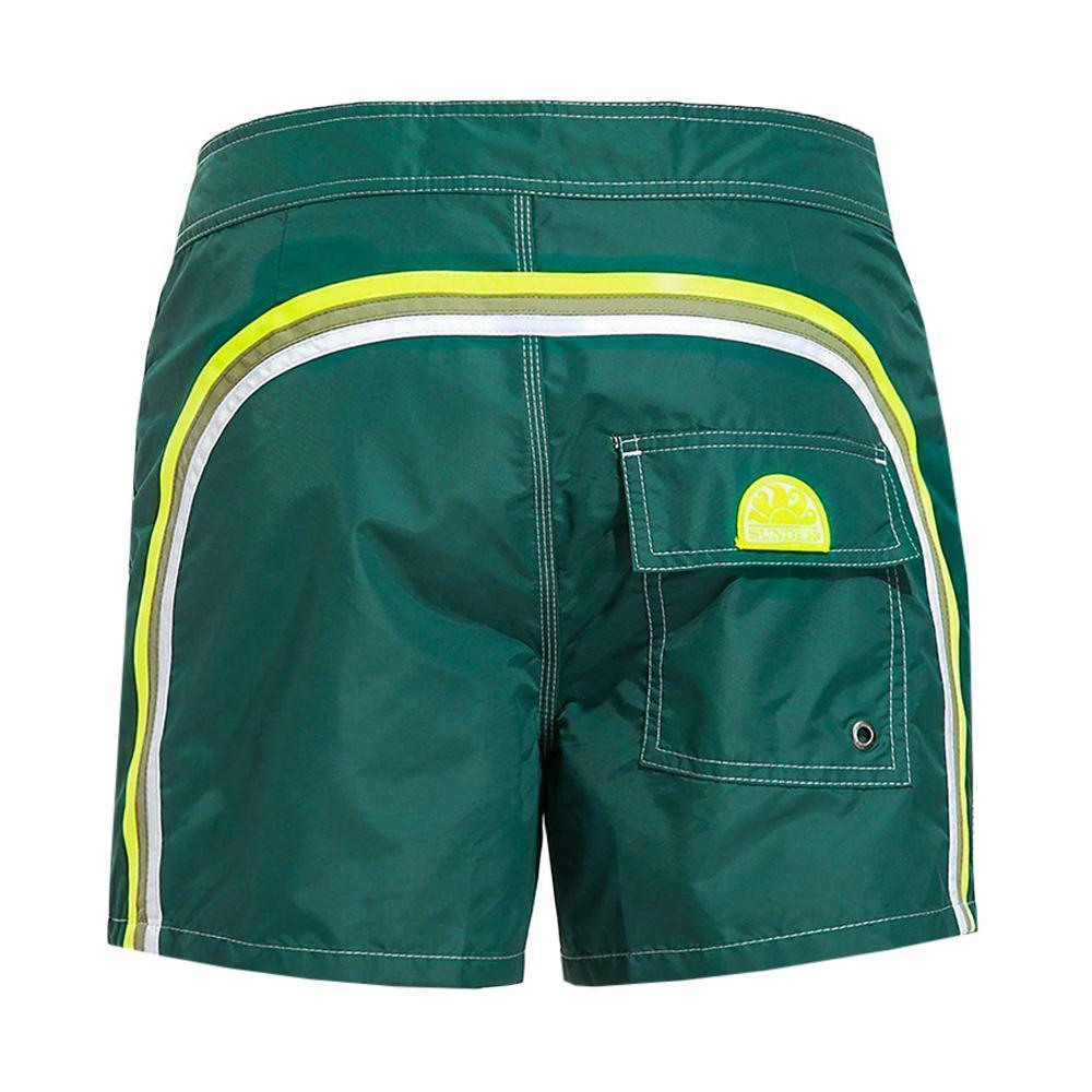 sundek sundek costume uomo verde scuro/verde fluo m504bdta100u