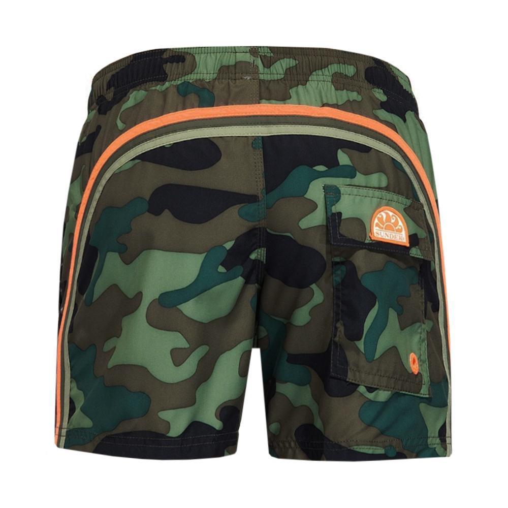 sundek sundek costume bambino camouflage arancio fluo b504bdp0153k