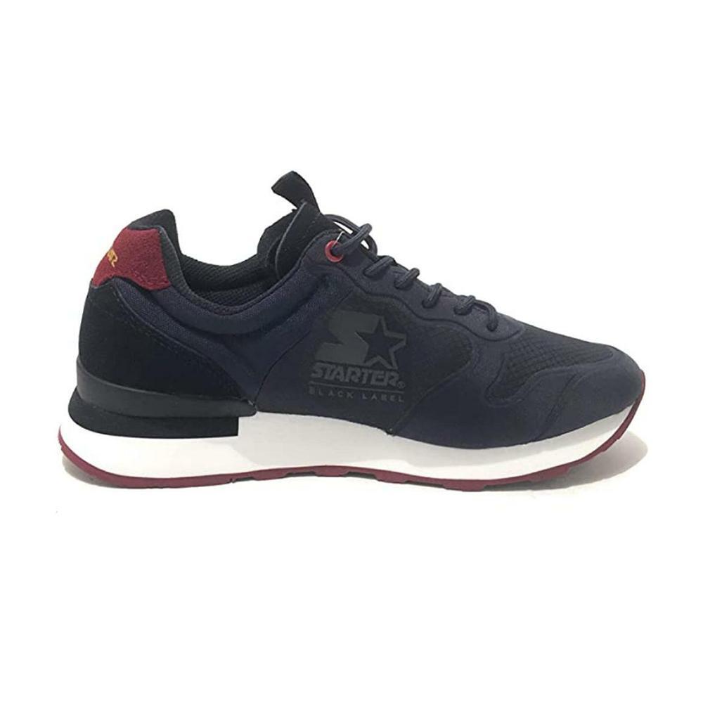 starter starter scarpe uomo blu rosso run14bb