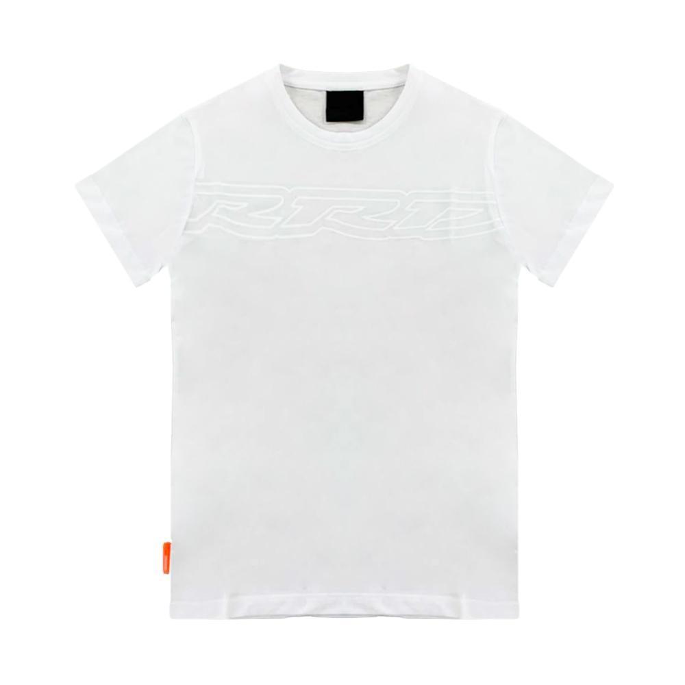rrd rrd t-shirt bambino bianco  w19907