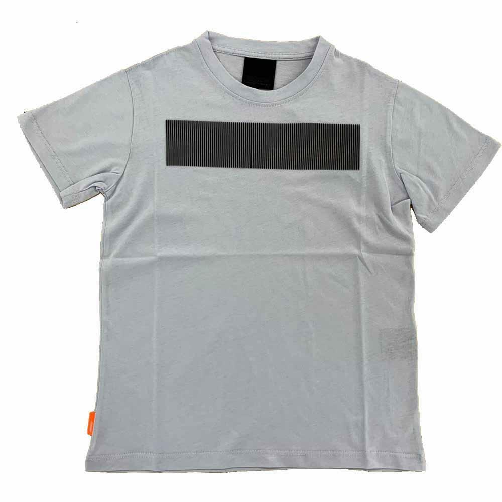 rrd rrd t-shirt ragazzo grigio perla w208251