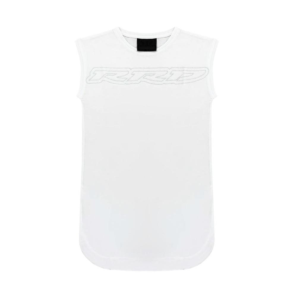 rrd rrd t-shirt bambina bianco w19961