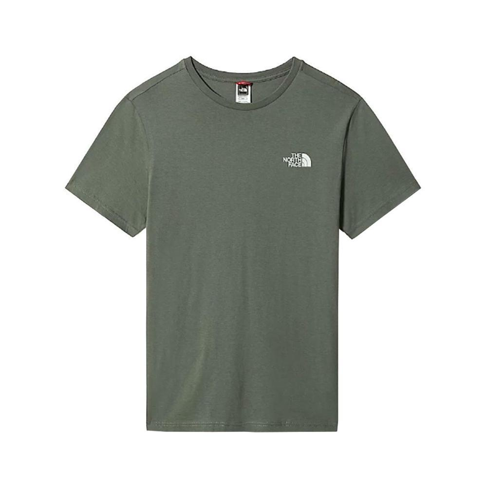 the north face t-shirt the north face bambino 21l1 verde militare nf0a2wan