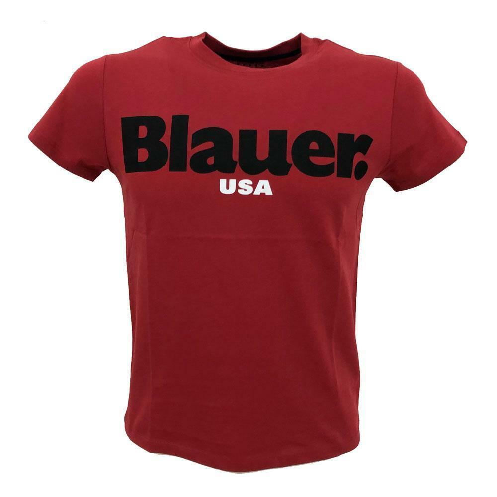 blauer blauer t-shirt bambino rosso 20sblkh02195