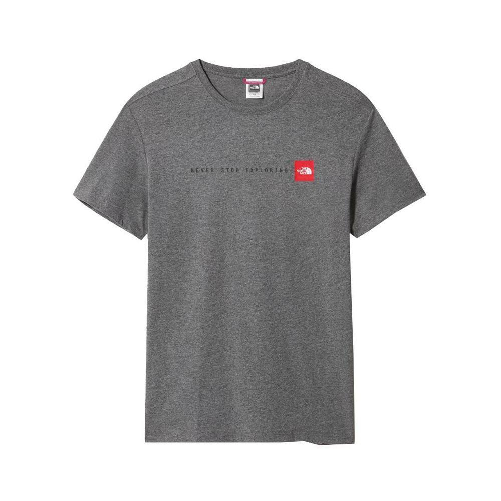 the north face t-shirt the north face uomo grigio nf0a2tx4
