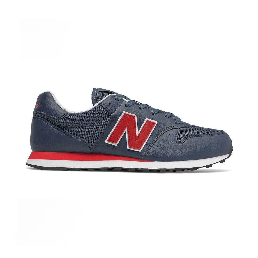 Scarpe new balance uomo blu rosso nbgm500tc1