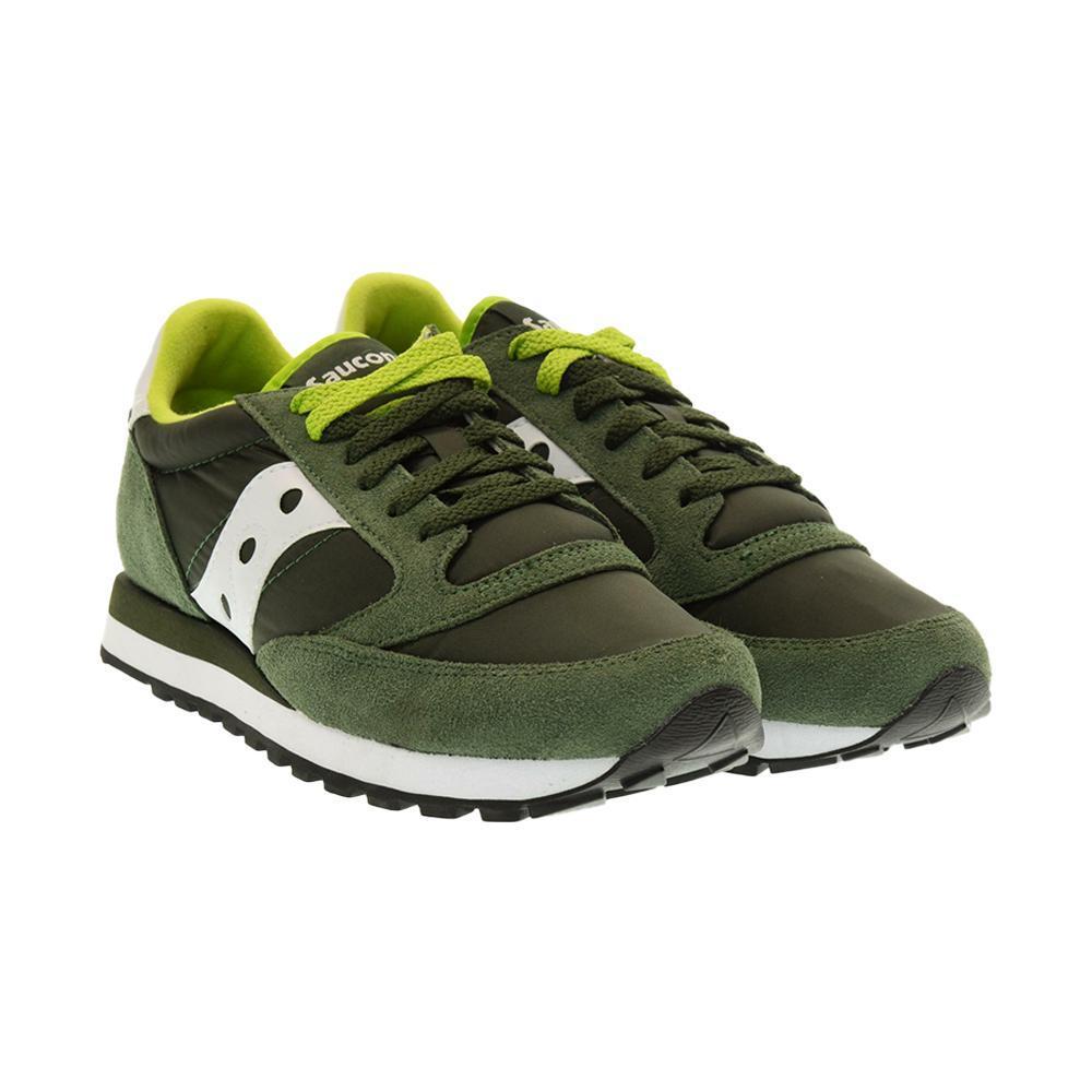 saucony saucony scarpa jazz original sportiva uomo verde 2044