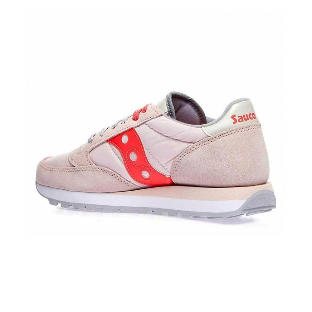 saucony saucony scarpa jazz original donna rosa grigio arancio s1044
