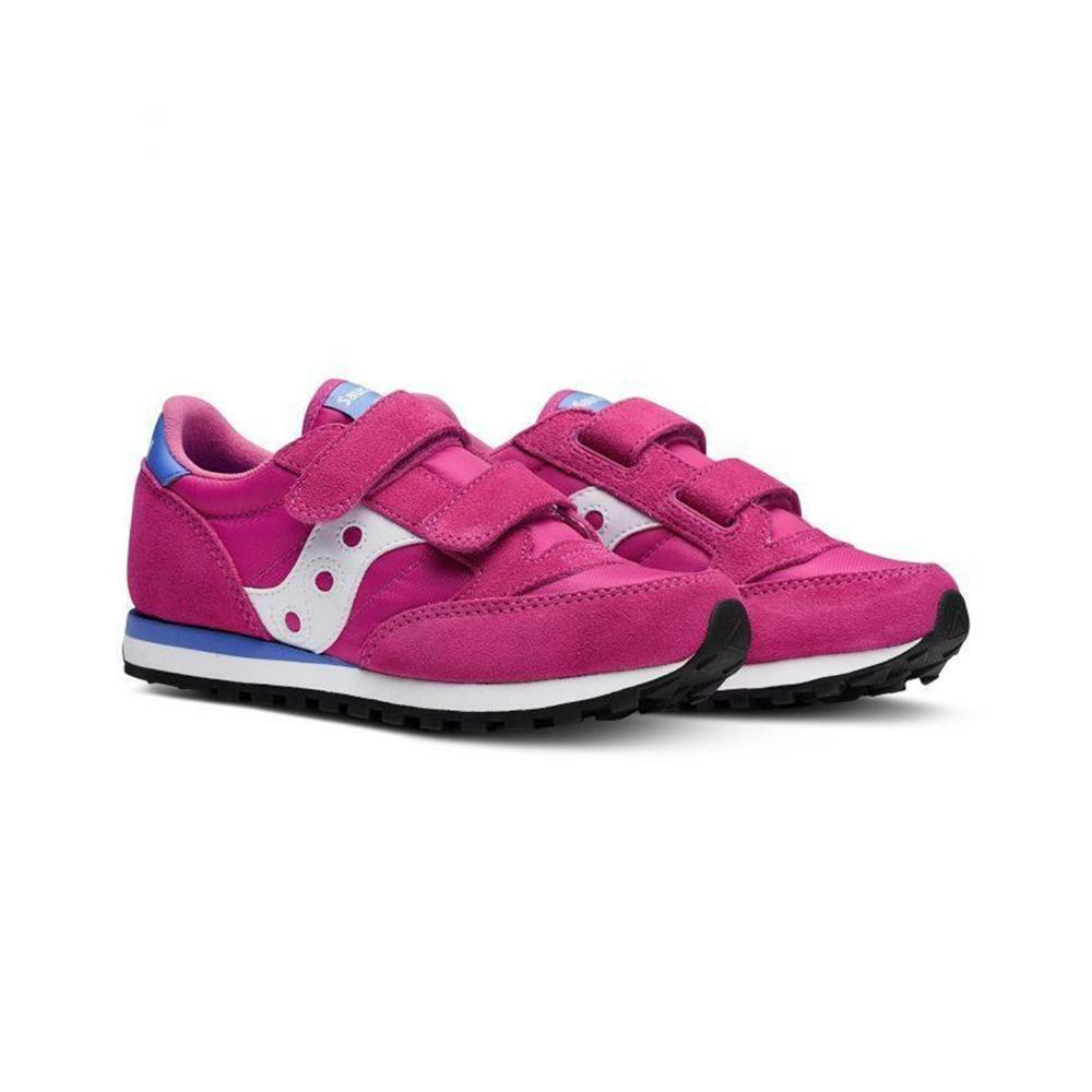 saucony saucony junior scarpa c/strappo bambina magenta sk159624