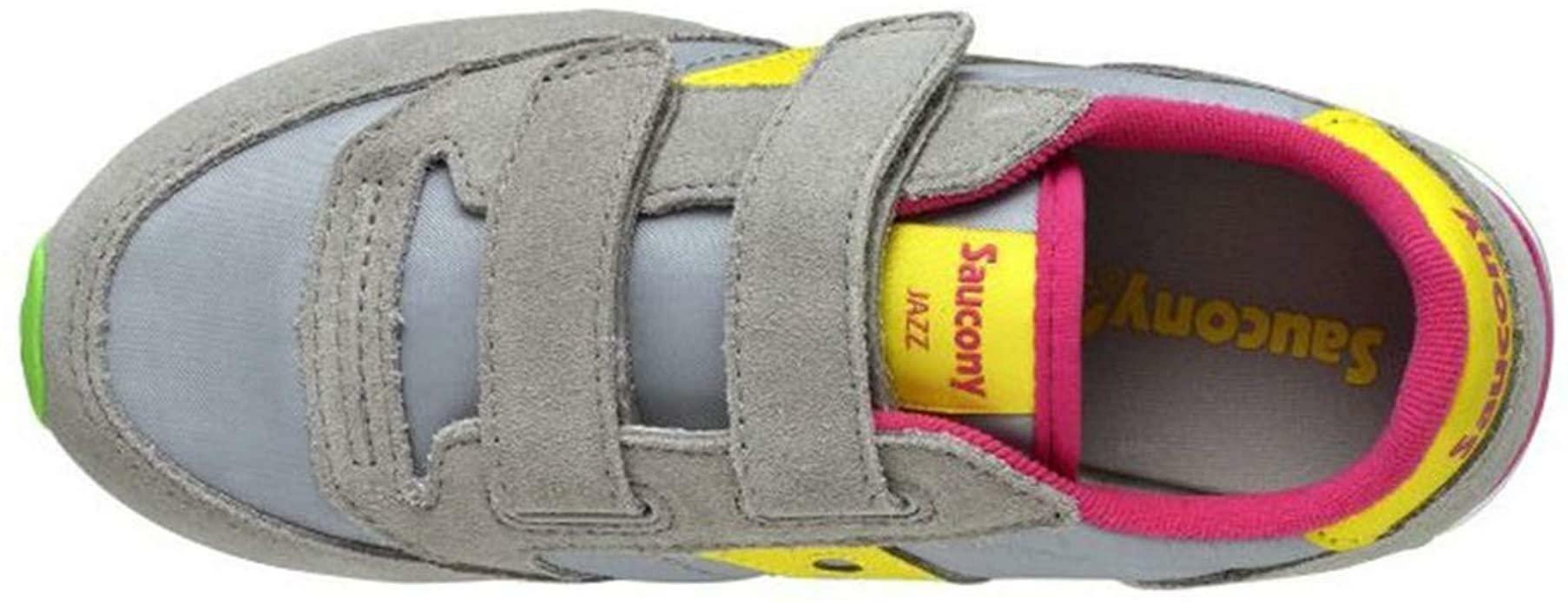 saucony saucony junior scarpa bambina grigio giallo sk159623