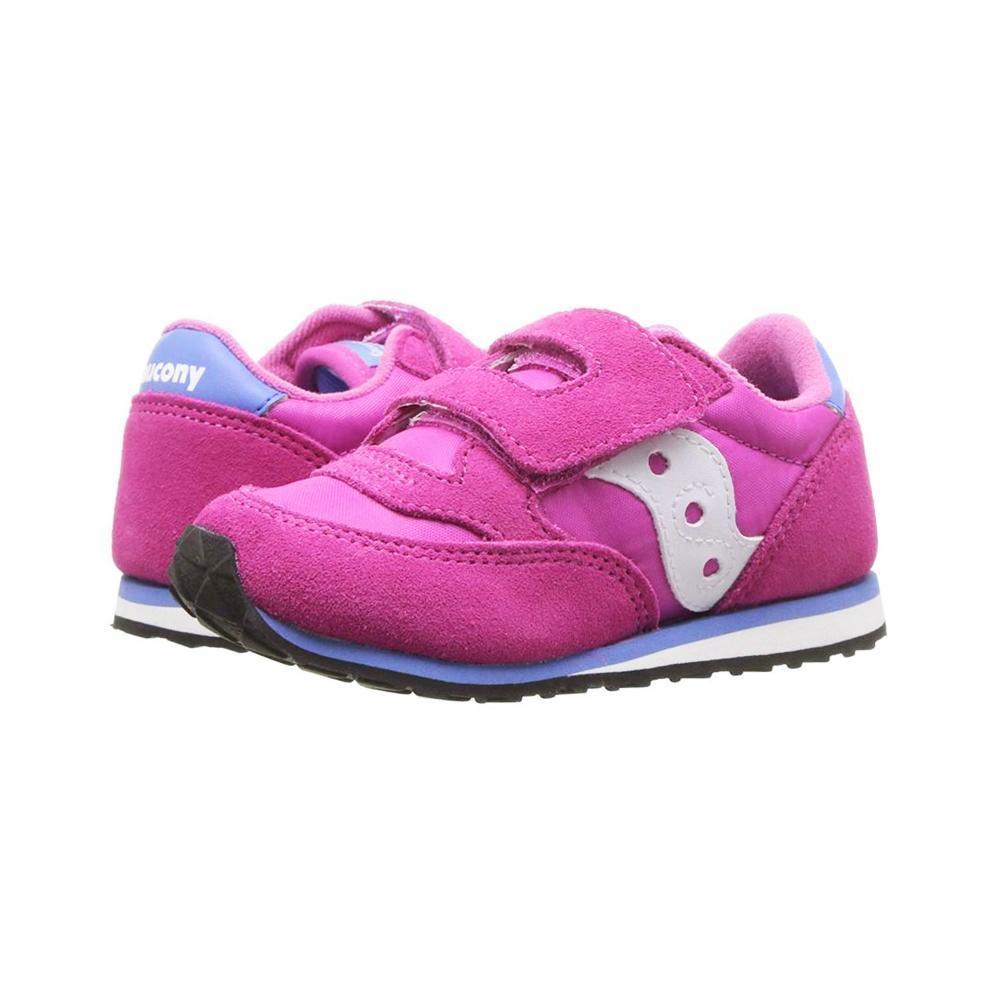 saucony saucony baby scarpa c/starppo bambina magenta azzurro sl159643