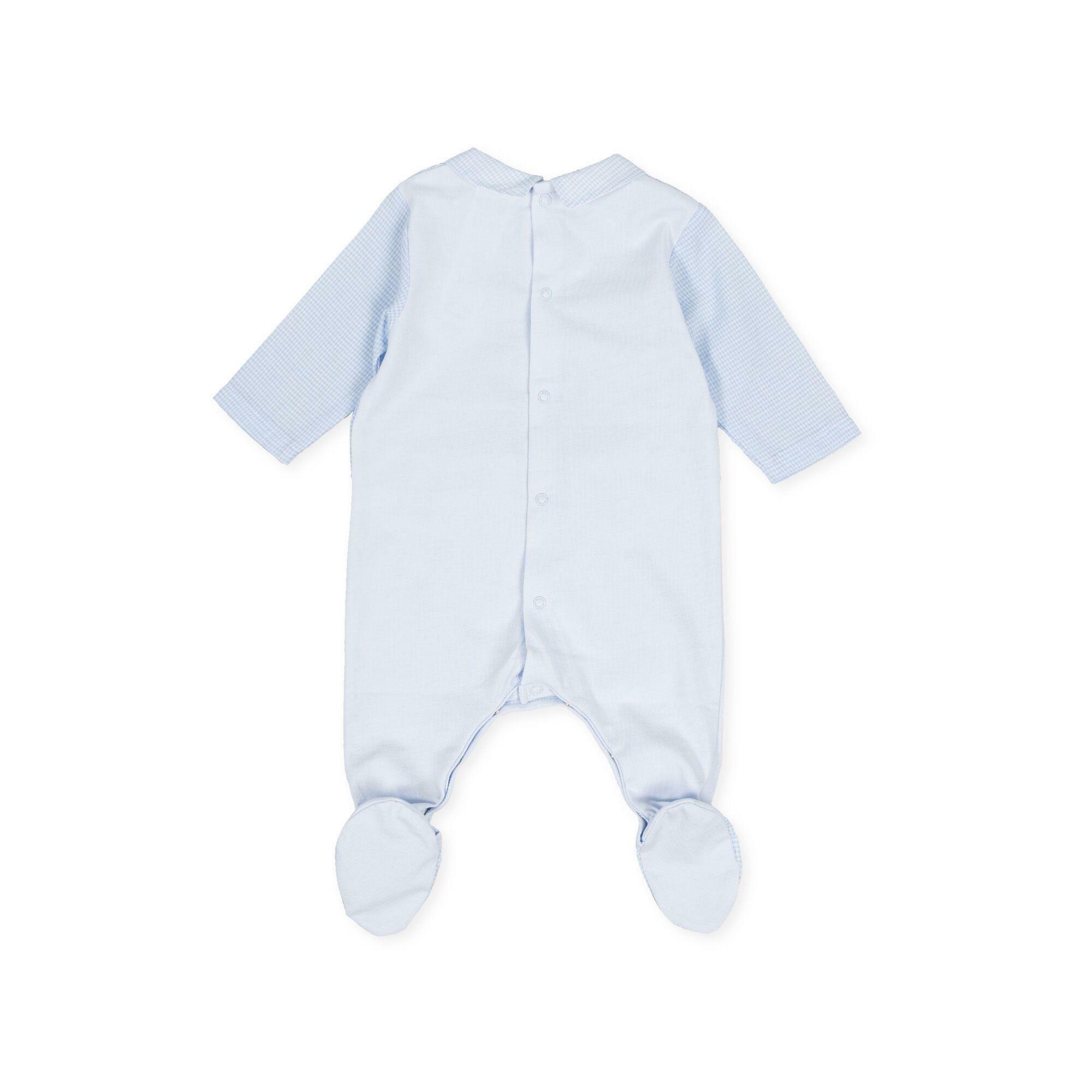 tutto piccolo tutto piccolo tutina neonato azzurro 8084s20/b01