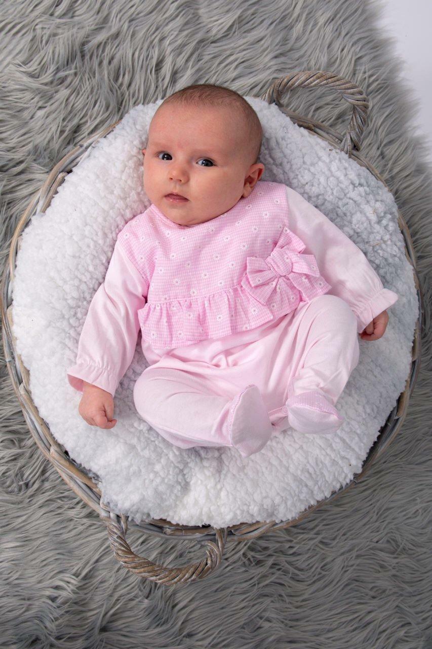 tutto piccolo tutto piccolo tutina neonata rosa 8184s20