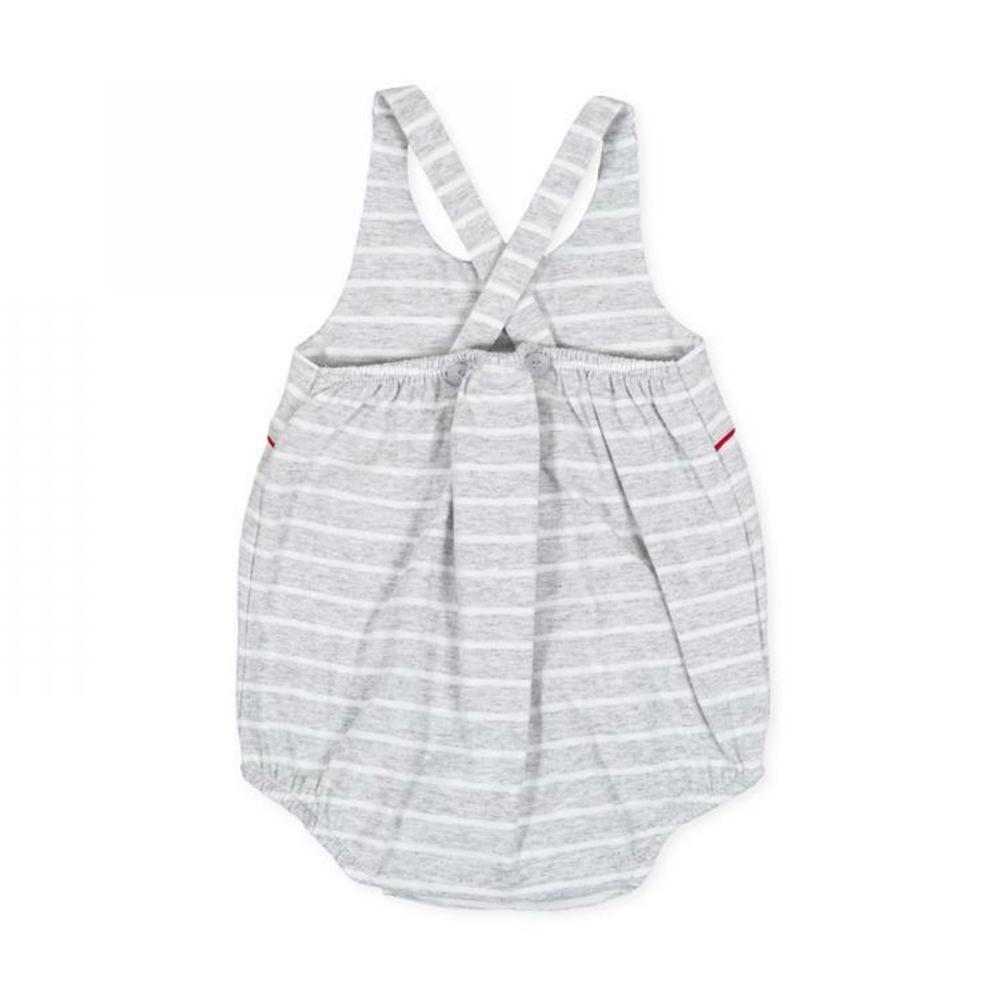 tutto piccolo tutto piccolo pagliacetto neonata grigio 8283s20