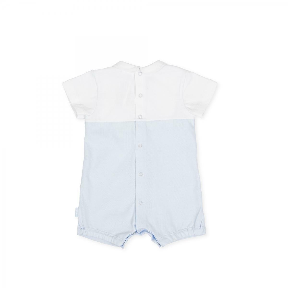 tutto piccolo tutto piccolo pagliacetto  neonato azzurro 8281s20