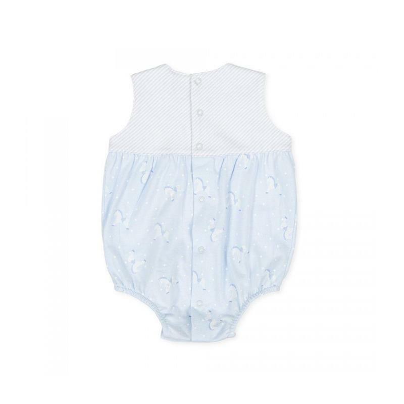 tutto piccolo tutto piccolo pagliaccetto neonato azzurro bianco 8287s20