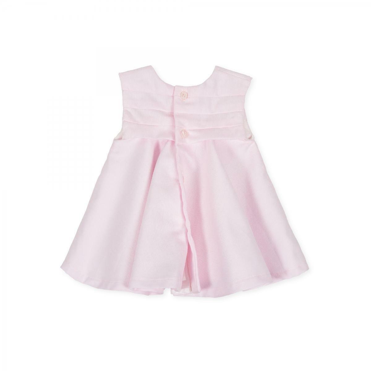 tutto piccolo tutto piccolo vestitino neonata rosa 8414s20