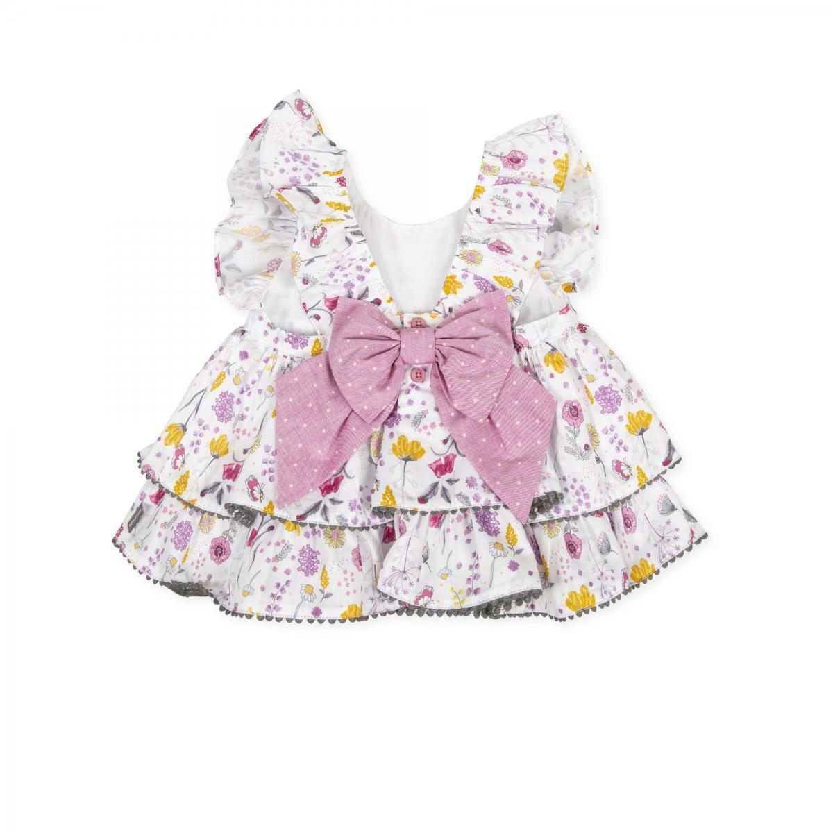 tutto piccolo tutto piccolo vestitino bambina bianco fantas. 8218s201